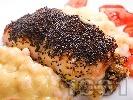 Рецепта Синапово пилешко руло с гъби